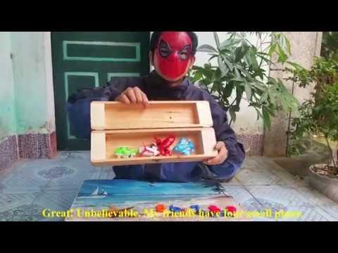 Trò chơi Siêu nhân Người nhện làm ảo thuật với chiếc hộp thần kỳ, 4K