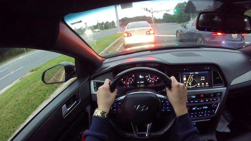 2015 Hyundai Sonata Limited 2.0T POV Test Drive
