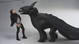 Kit Harrington Funny Game of Thrones How to Train Your Dragon 3 Audition Trailer