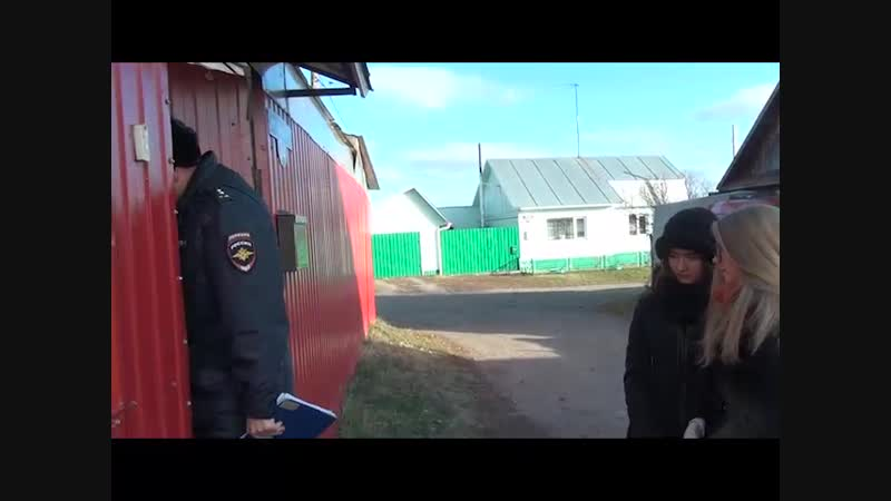 Акция один день с участковым в Ялуторовске