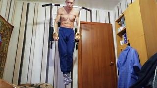 Workout. Тренировка креста и переднего виса.