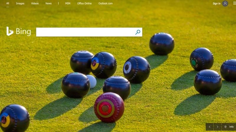 222 Bing Logo Plays with B Parody
