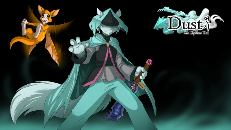 Dust An Elysian Tail № 1(Начало сказания)