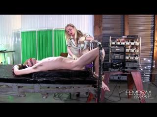 FemdomEmpire.com - Lexi Sindel (2017, Femdom, Blonde, Big Tits, High Heels, Anal Play, CBT, Milking Machine, Nurse Play, 1080p)