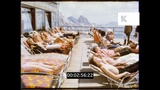 Alpine Resort, Cable Car, 1980 Germany, 16mm