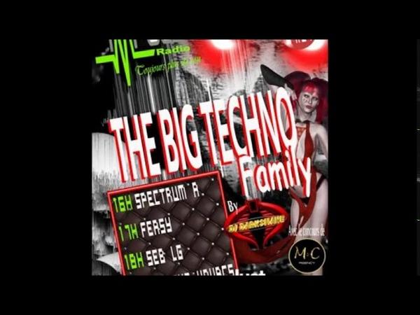 Event The Big Techno Family 2 Markus Kovacs Radio Impulse 27.1.2019