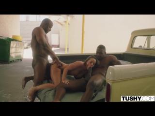 Abigail Anal,Big Ass,Big Tits,Big Dick,Double Penetration DP,Interracial,Threesome,Brunette,2018,HD