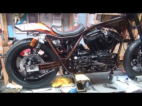 1993 FXR TC 120R 141 Harley 1999 06 Twincam conversion show bike 2015 Tatro Machine HotBike