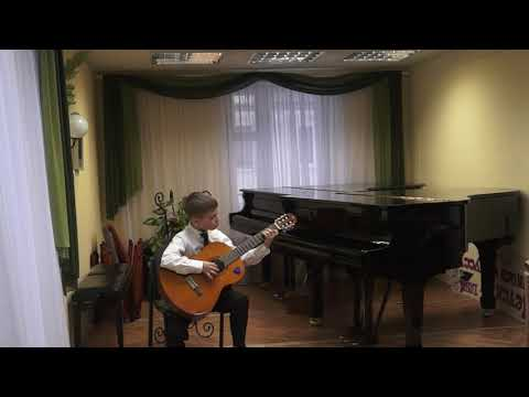 Стасюк Ю.Н. Вальс (ля минор) для шестиструнной гитары