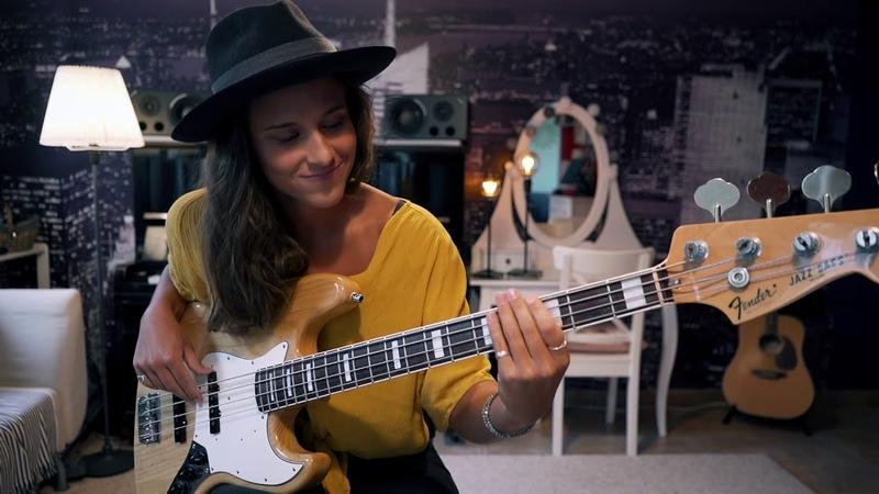 Kinga Głyk - Bruno Mars Finesse - bass cover
