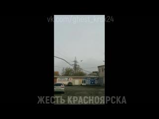 Пожар во дворце спорта имени Ивана Ярыгина в Красноярске 4