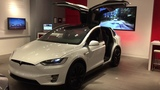 Tesla Model X Dance - AWESOME LIGHT SHOW MUST SEE...