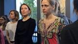 Ася Феоктистова в галерее 2517 в Перми