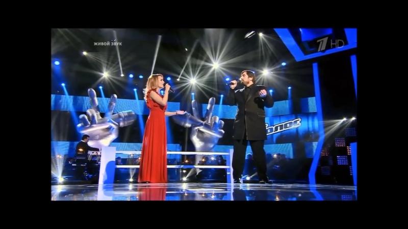 The Prayer фрагмент Шарип Умханов Екатерина Кузина 2 й сезон проекта Голос
