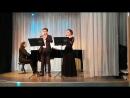 А.Вивальди. Концерт для двух гобоев. 2 часть. исп Всеволод и Полина Золотько ф-но П.А.Мелихов