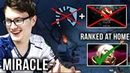 What is Miracle- Doing While Liquid is Playing on a Major? Hard Practice Invoker at Home - Dota 2