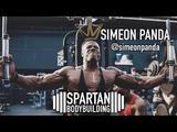 Simeon Panda training Spartan Bodybuilding