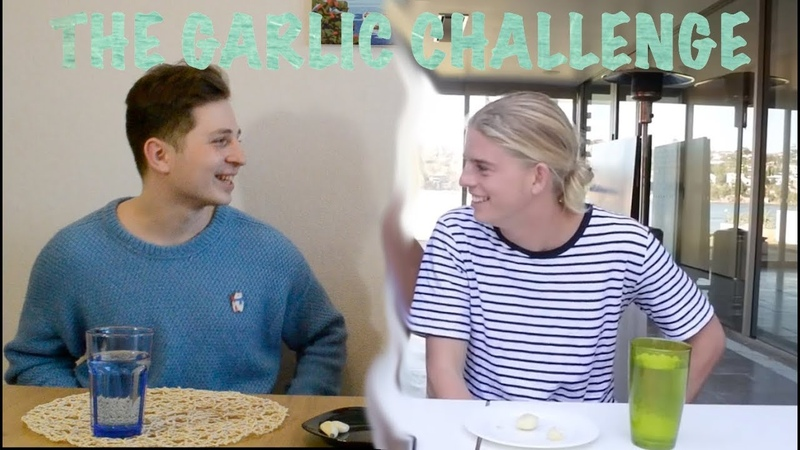 ALEX HAYES HAS TO MARRY ME l The Garlic Challenge