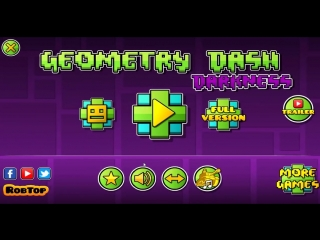 GEOMETRY DASH DARKNESS 2.2 - ALL LEVELS [1-4] - [FAN GAME].mp4