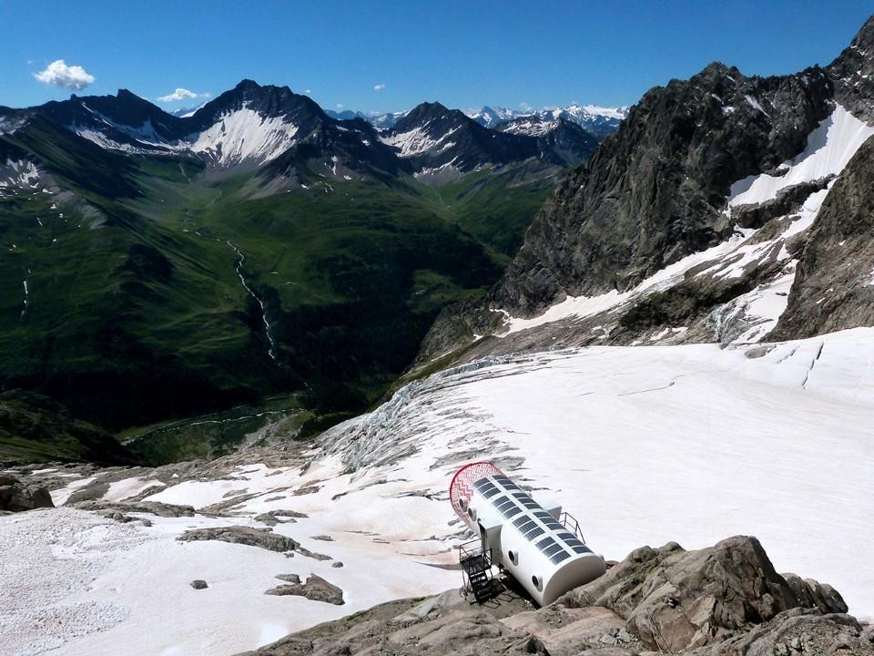 Подборка домов-убежищ в Альпах