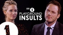 Jennifer Lawrence & Chris Pratt Insult Each Other   CONTAINS STRONG LANGUAGE!