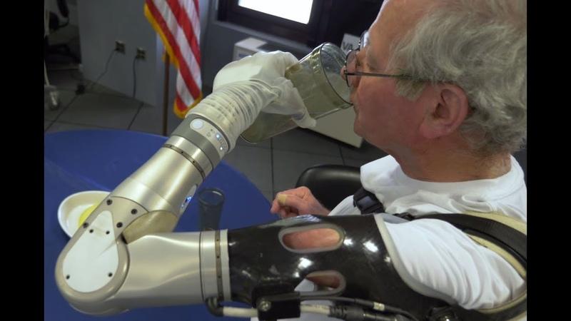 Veterans Receive DARPA's LUKE Arm