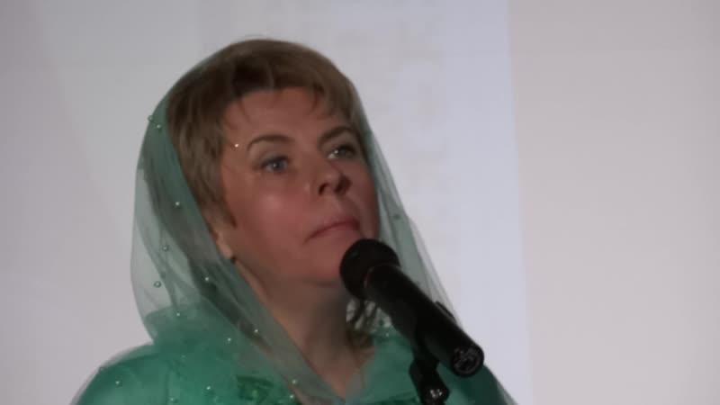 Лилия Евсеева Матушка Матрона ( Концерт в Александро-Невской Лавре 25.10.2018 г.)