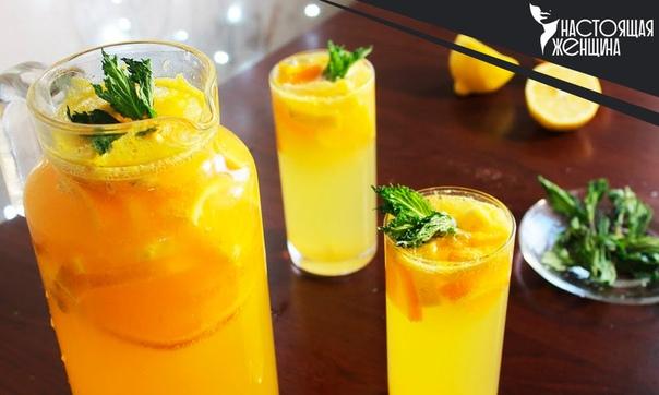Домашний лимонад из лимонов и апельсинов