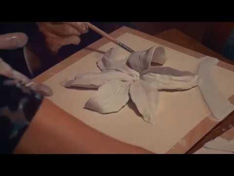 Объёмное панно Лилия своими руками