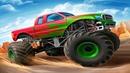 Мультики про Цветные Машинки для Детей Большие Машины Монстр Трак Крутые Прыжки на Трамплине Гонки