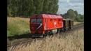 ТЭП70БС 011 с хозяйственным поездом на перегоне Домовицы Фурманов Северной железной дороги