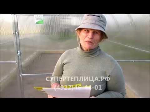 ЗАВОД ТЕПЛИЦ И МЕТАЛЛОКОСТРУКЦИЙ г. Владимир superteplica.ru (супертеплица.рф) ОТЗЫВ - 1