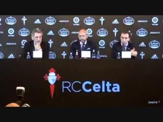 🇪🇸 Новый тренер «Сельты» поблагодарил «Депортиво» за веру в него. «Депор» – злейший враг Виго