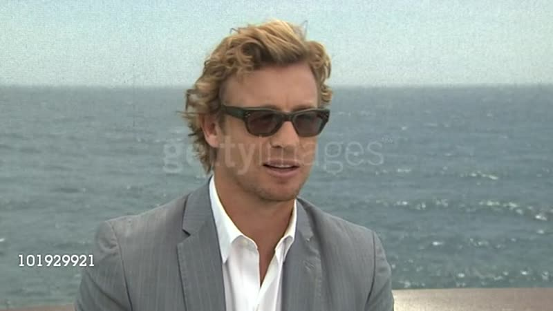 Simon Baker on being able to enjoy success now because he's older at the 50th Monte Carlo TV Festival Simon Baker Interview a