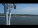 Нижний Новгород в HD Канатная дорога Нижний город Бор канатный мост