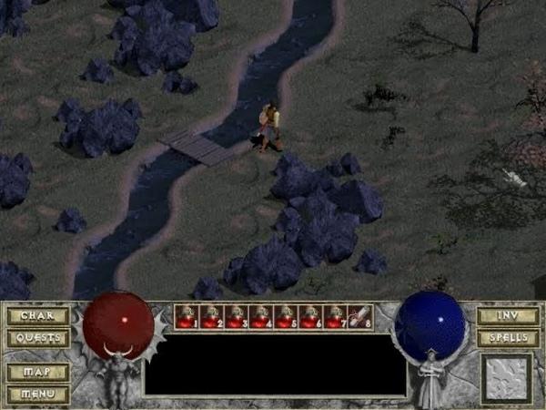 Взгляд в прошлое Выпуск 19 Diablo Волшебный камень 6
