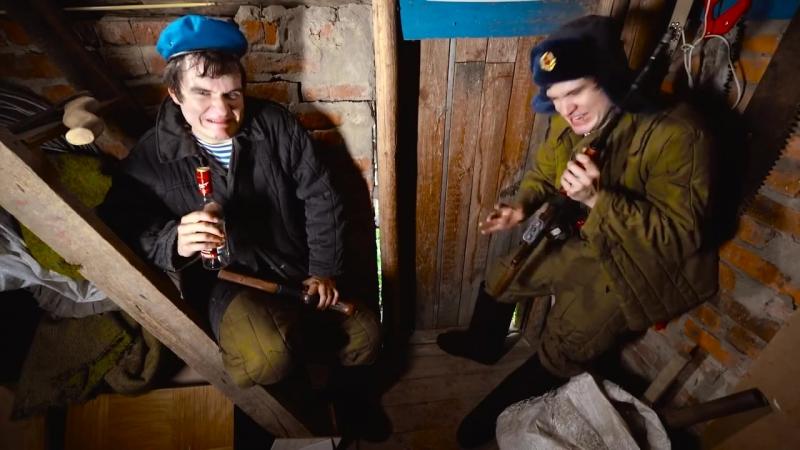 Пародия BADCOMEDIAN - Как Американцы видят РУССКИХ!