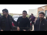 Встреча Хабиба Нурмагомедова с болельщиками в Самаре