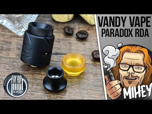 Vandy Vape Paradox RDA. Первая RDA Драгоша. 🎷🎻🎹🎸