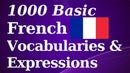 1000 Basic French Vocab Expressions