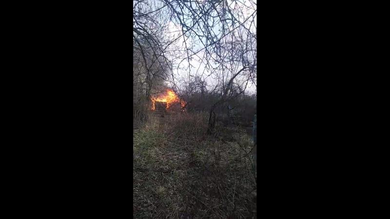 Рузаевский район горят дачи в Ключарево Рузаевка