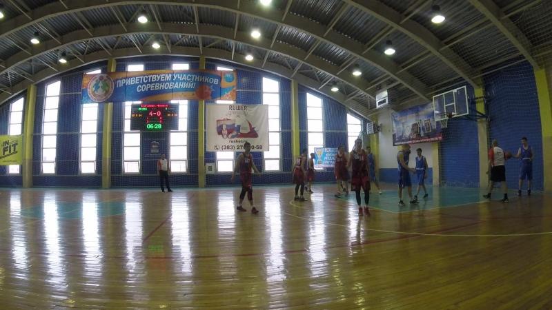 Юниор-Алтай баскет 1 период начало 2
