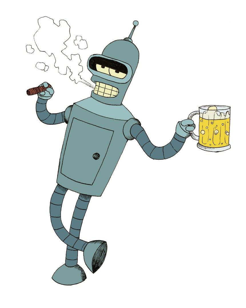 робот бендер картинки