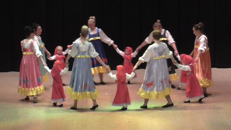 Танец Ягодки малинки группа Мама и малыш 11 05 2018 г