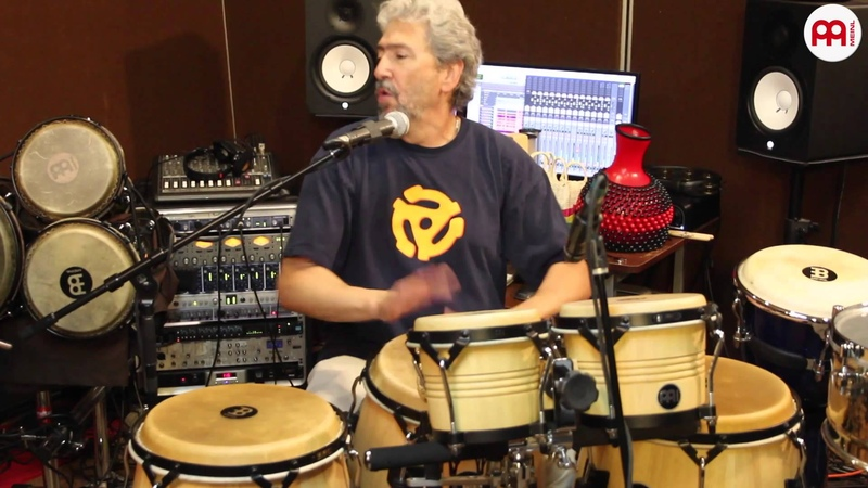 Luis Conte and Jimmy Branly Historic Session MEINL Percussion Part 4