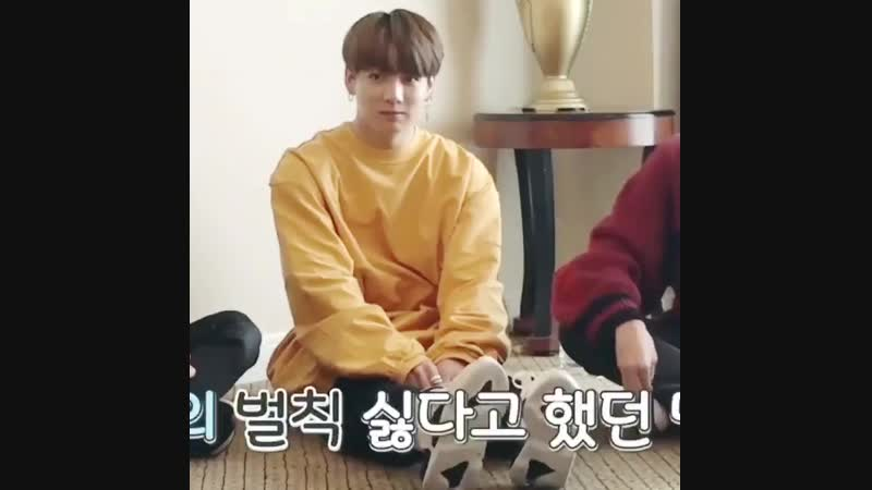 HIM TAPPING HIS FEET TOGETHER IM SO SAD MY LITTLE BABY