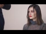 За кадром фотосессии Фиби Тонкин (Хейли) для Vogue Australia's, апрель 2018.