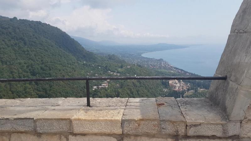 Иверская гора крепость Анакопия