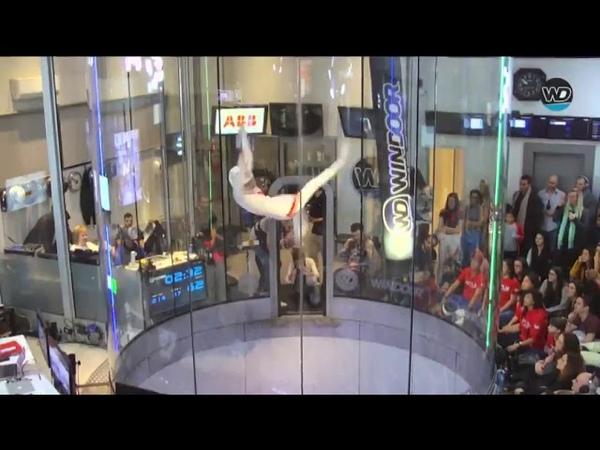 Kyra Poh's winning solo freestyle flight