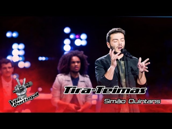 Simão Quintans - Crazy In Love | Tira-Teimas | The Voice Portugal